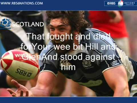 flower of Scotland lyrics