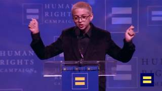 Josie Totah Receives HRC Visibility Award