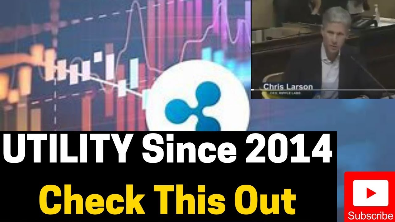 Ripple/XRP News: UTILITY Since 2014 Check This Out