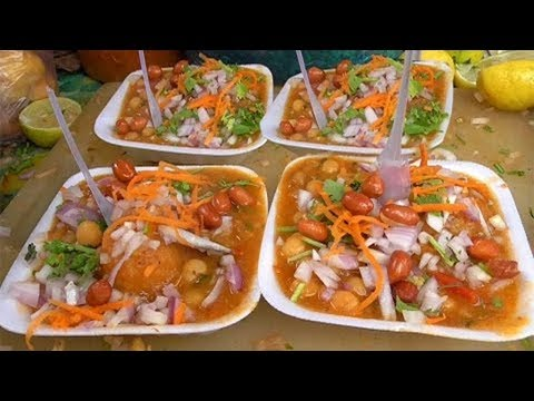 How To Prepare  Batani Chat(street Style)at  Home In Telugu   syamalas Kitchen   Kammas Recipes