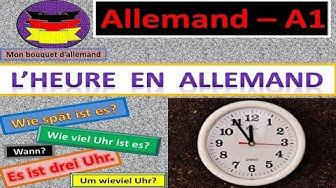 A la portée: L' heure en allemand