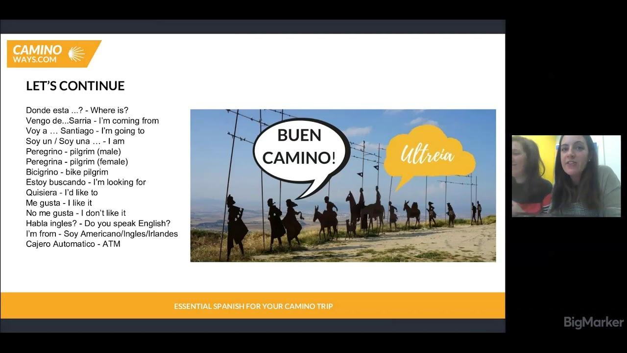Do I need to know Spanish for the Camino de Santiago