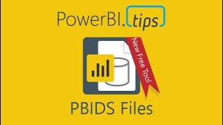 PowerBI.نصائح - البرنامج التعليمي - كيفية إنشاء Power BI سطح المكتب المصدر (PBIDS) الملفات