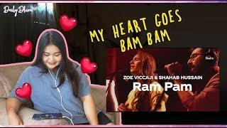Indonesian Girl Reaction to Coke Studio Season 12 Ram Pam Zoe Viccaji Shahab Hussain