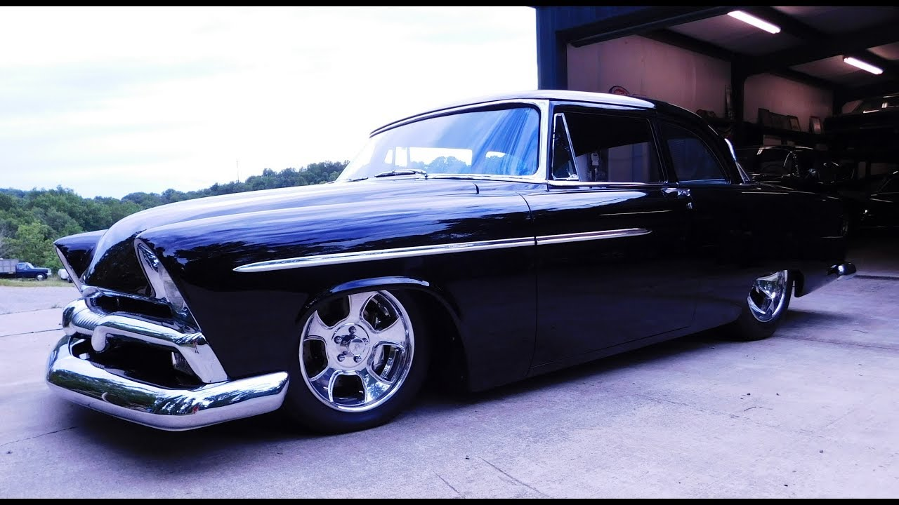 1955 Plymouth Savoy Alloway's Hot Rod Shop Pro Auto Custom Interiors by Steve Holcomb - YouTube