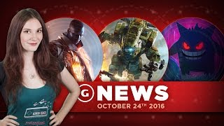 Titanfall 2 On PS4 Pro Not Native 4K & New Pokémon GO Update! - GS Daily News