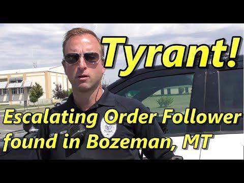 1st Amendment Audit - Bozeman Police office - Bozeman, MT