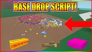 NEW BASE DROP SCRIPT! (NEW METHOD!) [NOT PATCHED!] LUMBER TYCOON 2 ROBLOX