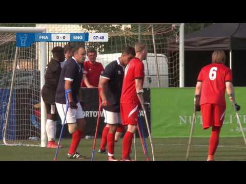 Anglia v Francja - mecz grupowy Amp Futbol Cup 2016 (England v France group B)