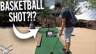 HAVE YOU EVER SEEN A MINI GOLF COURSE LIKE THIS?! | Brooks Holt