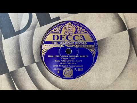 "Elsie Carlisle - ""This Little Piggie Went to Market"" (1934)"