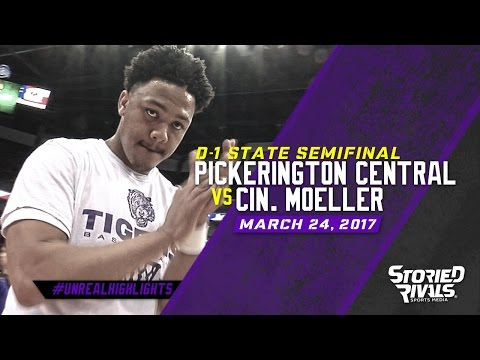 HS Basketball   Pickerington Central vs Cincinnati Moeller [STATE SEMIFINAL] [3/24/17]