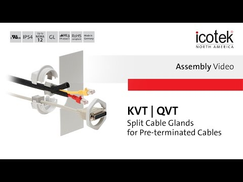 Cable Gland KVT & QVT | Assembly | icotek North America