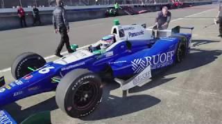 2017年12月3日の「Honda Racing THANKS DAY 2017」で実施された佐藤琢磨...