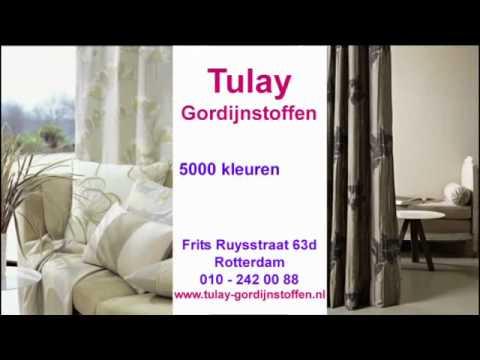 Tulay Gordijnstoffen Rotterdam - YouTube