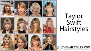 Taylor Swift Haircuts Ranked