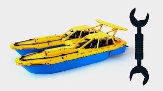 Lego Technic Racing Boat - Review / Лего Техник Гоночный Катер – Обзор