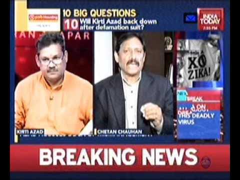 Kirti Azad on Karan Thapar's Show TO THE POINT
