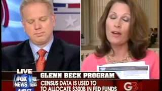 Bachmann Rails Against Census On Beck