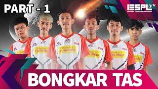 Bongkar Tas: Player Saudara Esports - Part 1