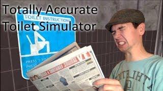 Totally Accurate Toilet Simulator 2013 | SITTIN ON THA TOILET thumbnail