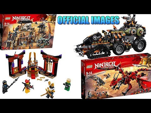 LEGO Ninjago Season 9 Official Set Images