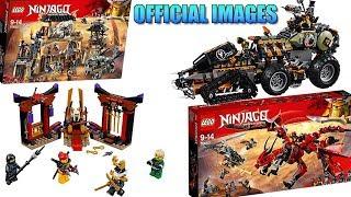 LEGO Ninjago Season 9 Official Set Images