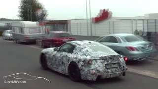 2018-2019 Toyota Supra (MKV) Spotted At BMW M Test Center Nurburgring