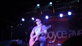 Boyce Avenue & Tyler Ward, Fix You Live, Cardiff 2011