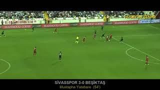 Lider Sivassporun 2019-2020 Süper Toto Süper  Lig'deki Bütün Attığı Goller.