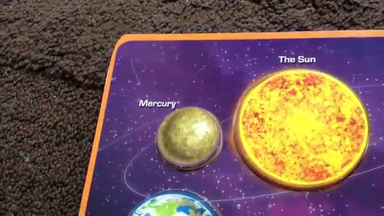 The Eight Planets Song - YouTube