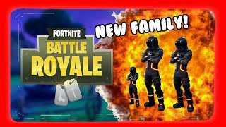 Fortnite Battle Royale (Funny Moments) Finding Foster Parents, A1 passes the sauce!