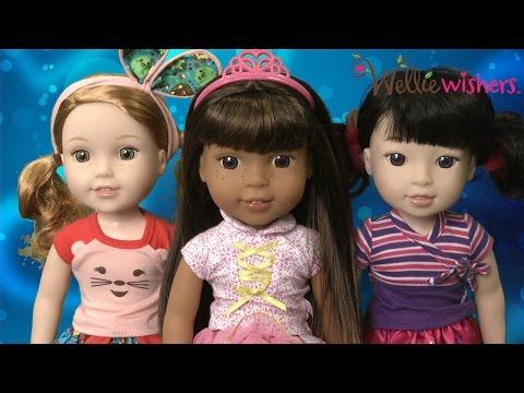 WellieWishers Emerson, Ashlyn & Willa Dolls From American Girl