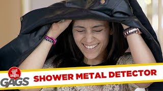 Metal Detector Turns into Shower !