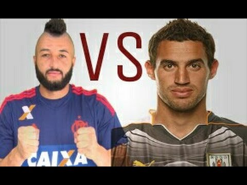 Alex Muralha x Martin Silva • Defesas