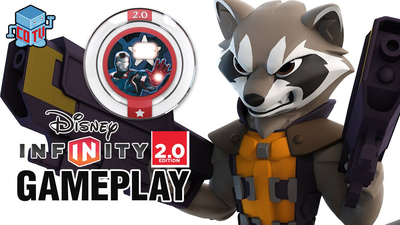 Rocket Raccoon Disney Infinity 2.0 Guardians of the Galaxy Character Figure