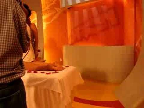 Masaje Herbal Oriental  II parte