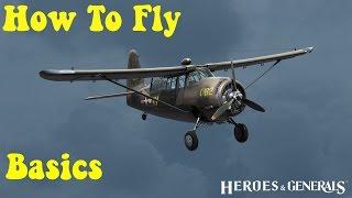 Pilot and Flight Controls - Heroes and Generals