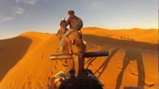 Morocco camel trekking gopro HD 2