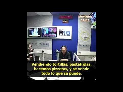 Bronca en la radio argentina | El locutor se hartó de ser saqueado