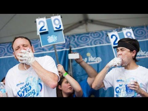 World Gyro Eating Championship 2016 (Chestnut vs Stonie)