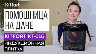 ЧТО ВЗЯТЬ НА ДАЧУ? Обзор индукционной плитки Kitfort КТ-116
