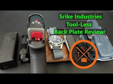 Strike Industries Tool-Less Slide Plate for Glock: Review/ Giveaway!