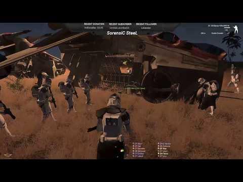 """Hold the Line!"" - STAR WARS Arma 3 501st legion 2PLT Op"