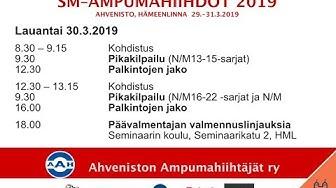 AAH SM 2019 Lauantai 30.3.2018