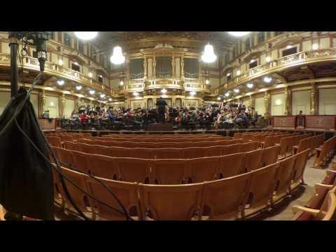 Musikverein Wien: 360° (Video und Audio)
