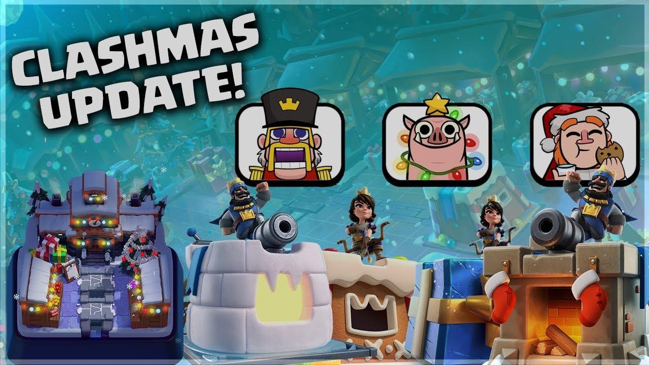 Clash Royale Skins Emotes