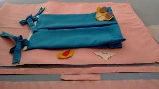 Pap porta fraldas embutido rápido simples e fácil por Dipiliki Baby