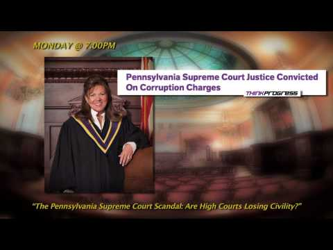 Justices of the PA & U.S. Supreme Courts: Losing Civility? - Promo