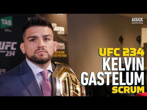 UFC 234: Kelvin Gastelum Declares 'I'm the Champ' After Robert Whittaker's Injury Withdrawal